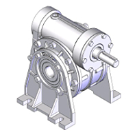 Alumiunm Worm Gear Speed Reducer(AKQ-B1 Series)